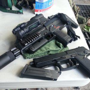 MP7とMk23