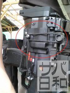 東京マルイMP7A1が入るホルスター